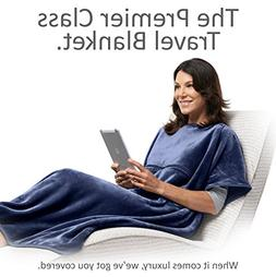 4-in-1 Premier Class Travel Blanket with Pocket 72