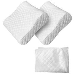 Red Suricata 2 Travel Contour Pillows & Double Pillowcase Bu