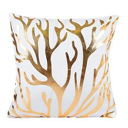 2018 New Fashion Pillow Cover,Sexyp Gold Foil Printing Pillo