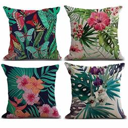 2018 New Fashion Pillow Cover,Sexyp 4PC Pillow Cases Linen S