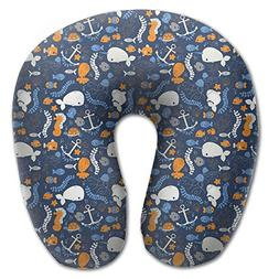 Create Magic - Sea Animals U-Shaped Travel Pillow, A Memory