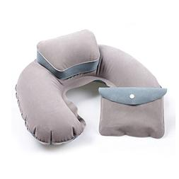 Happy Hours Travel Neck Pillow U-Shape Cushion Inflatable So