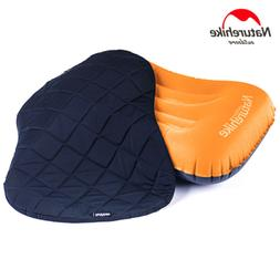 Inflatable Pillow Travel Pillow Outdoor Vented Beach Soft Fa