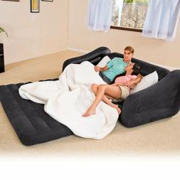"""Intex Pull-out Sofa Inflatable Bed, 76"""" X 87"""" X 26"""", Queen"""