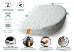 JILL&JOEY Pregnancy Pillow Wedge for Maternity, Belly & Back