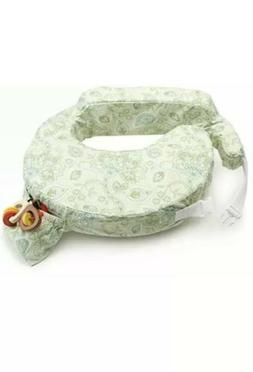 My Brest Friend Green Paisley Travel Nursing Pillow