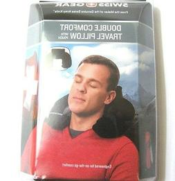SWISS GEAR Double Comfort Travel Pillow Neck Pouch Cushion C