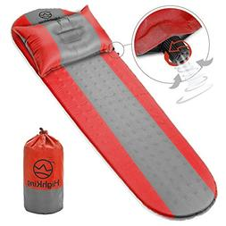 Self Inflating Sleeping Pad –  Inflatable Sleeping Mat Per