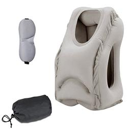 Sweesire Inflatable Travel Pillow Airplane Pillows,Portabl