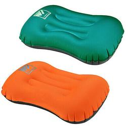 Air Pillow Inflatable Cushion Portable Head Rest Compact Tra