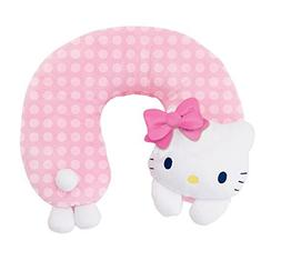 NEW AUTHENTIC SANRIO HELLO KITTY TRAVEL HEAD NECK PILLOW dot