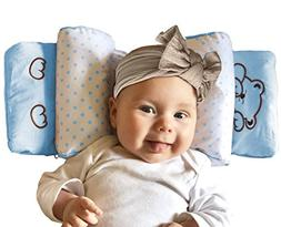 Baby Pillow for Safer Infant Resting and Diaper Changing - H