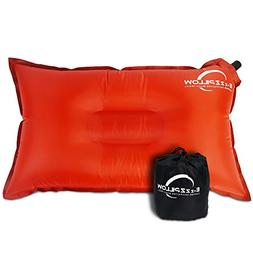 Camping Pillow Large Compact Inflatable Pillow| Adults Kids