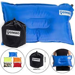 ONWEGO Camping Pillow/Inflatable Air Pillow- 20in x 12in, 10
