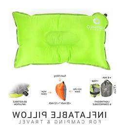 Inspired Equipment Camping Pillow by Compressible & Portable