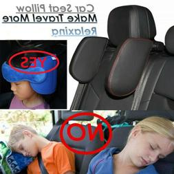 Car Seat Pillow Headrest Neck Support Kids Adults Travel Sle