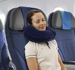 TravelMate Chin Supporting Memory Foam Travel Neck Pillow -