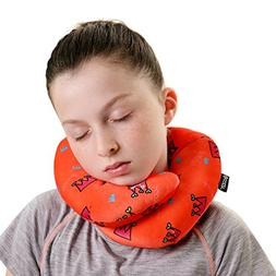 BCOZZY Chin Supporting Travel Neck Pillow - SquaresGeometric