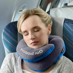 BCOZZY Chin Supporting Travel Pillow Stops The Head from Fal