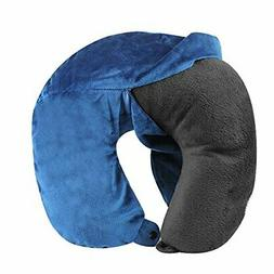 Cloudz Washable Travel Neck Pillow Cover - Blue