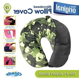 Cloudz Washable Travel Neck Pillow Cover - Camouflage