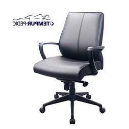 Comfort Seating Tempur-Pedic Mid Back Chair In Bonded Leathe