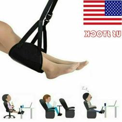 Comfy Hanger Travel Airplane Footrest Hammock Foot Made with
