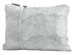 Therm-a-rest Compressible Pillow, Medium, Gray