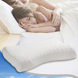 Memory Foam Bed Pillow Neck Pillows for Sleeping,Hypoallerge