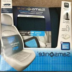 Samsonite Cooling Gel Lumbar Cushion 2 pack Memory Foam