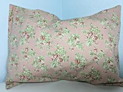 """Cotton Pillow CASE for 12"""" x 18"""" My TRAVEL Pillow Cover Pick"""