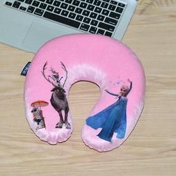 Disney FROZEN Kids Girls HeadRest Neck Support Pillow Memory