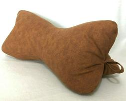 Dog Bone Pillow COVER Neck Back Travel Cotton Zipper Closure