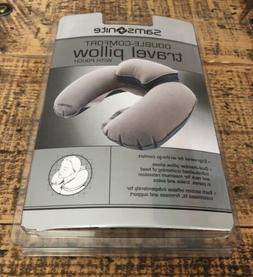 double comfort travel pillow new in package