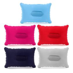 Double Sided Inflatable Sleep Pillow Mats Cushion For Campin