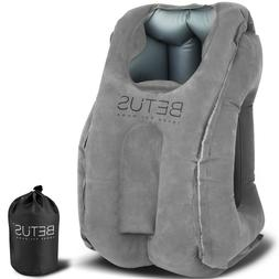 Betus Dreamer Comfort Inflatable Travel Pillow for Airplane
