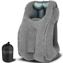 Betus Dreamer Comfort Inflatable Travel Pillow - for Airplan