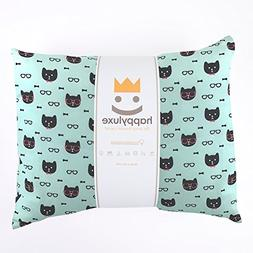 HappyLuxe Expedition Travel Pillow and Pillowcase for Kids,