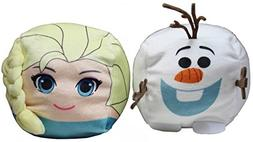 Frozen Elsa and Olaf Stuffed Travel Mini Pillow - Cubd Colle