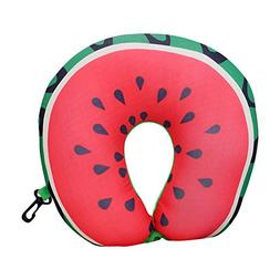 Superi Fruit Microbead Neck Pillow Soft U Shaped Cushion for