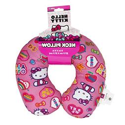 Hello Kitty Pink Rainbow Travel Neck Pillow