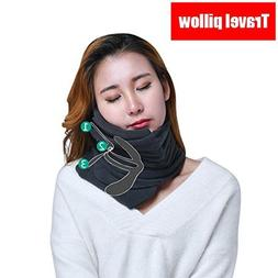 Travel Pillow ideal for airplane flight Easy to carry Soft S