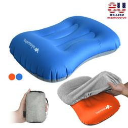Inflatable Air Camping/Travel Pillow Ultralight Portable Bac
