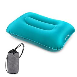 KUYOU Inflatable Camping Pillow, Compressible Ultralight Erg
