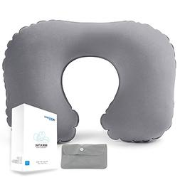 Inflatable Neck Pillow with Portable Bag by 40000KM|Inflatab
