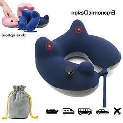 Inflatable Travel Neck Pillow, Bhuato Comfortable Neck Pillo