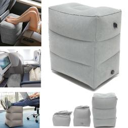 Inflatable Office Travel Footrest Leg Foot Rest  Cushion Pil
