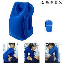 Inflatable Travel Pillow, SmartDer Airplane Pillow, Neck Pil