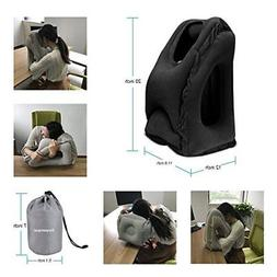 BONAIR OUTFITTERS B077Z8M8RK Inflatable Travel Pillow Airpla