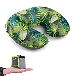 Hikenture Inflatable Travel Pillow by Ultralight Blow Up Nec